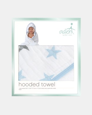 Aden & Anais - Hooded Towel   Babies Toddlers - Bathtime & Skincare (Dapper Stars) Hooded Towel - Babies-Toddlers