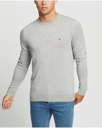 Tommy Hilfiger - Core Cotton-Silk Crew Neck Sweater