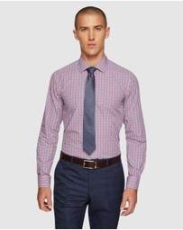 Oxford - Beckton Dobby Checked Shirt