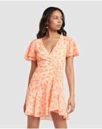 Forever New - Joanna Ruched Mini Dress