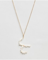 Reliquia Jewellery - Aries Pearl Zodiac Sign Necklace