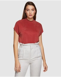 Oxford - Maxie Slinky Top
