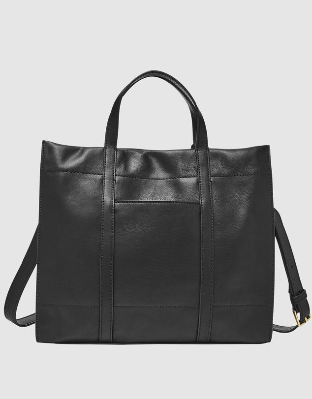 Women Carmen Black Tote Bag