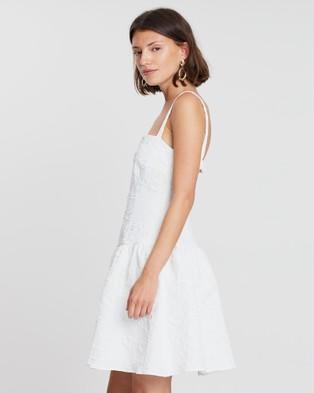 FRIEND of AUDREY Allix Mini Dress - Dresses (White)