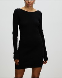 Bec + Bridge - Riviera Knit LS Mini Dress