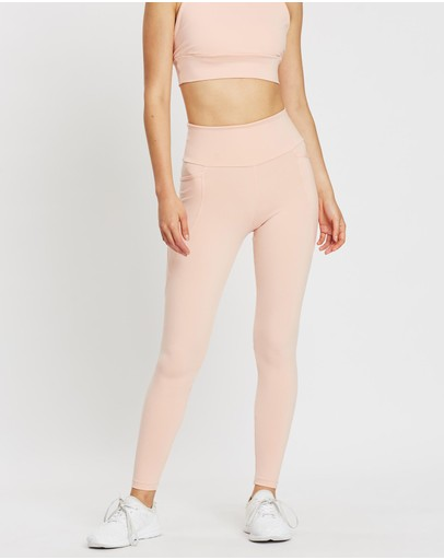 Ave Activewoman Side Pocket Core Leggings Pink