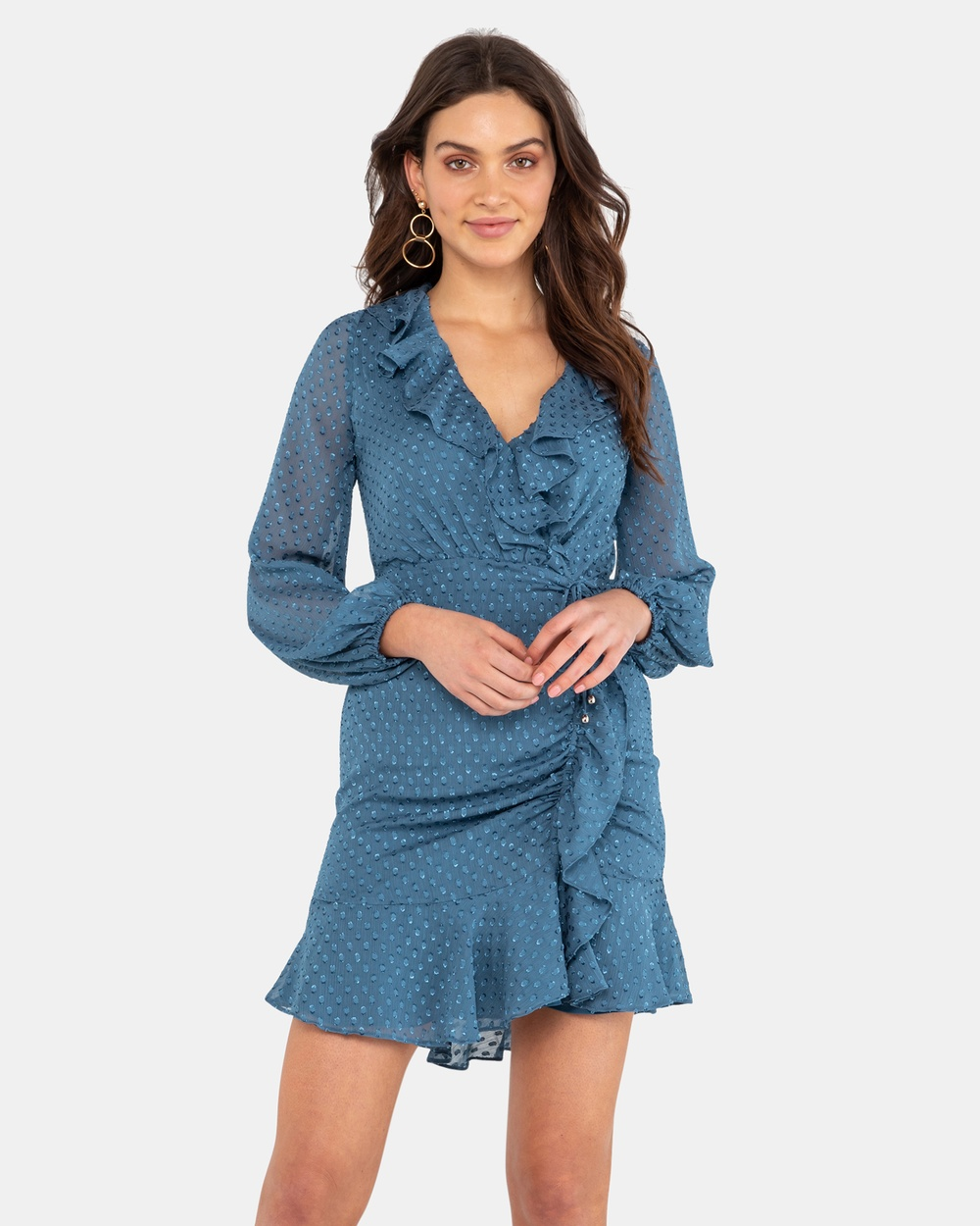Rodeo Show Aurelia Mini Dress Dresses Steel Aurelia Mini Dress