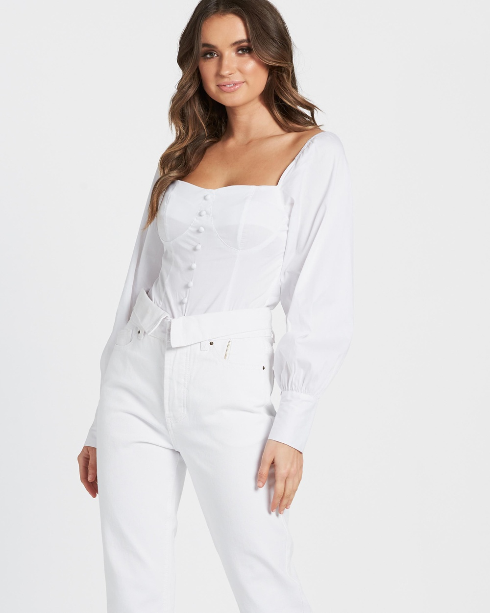 Lioness Hello Lover Top Tops White Hello Lover Top