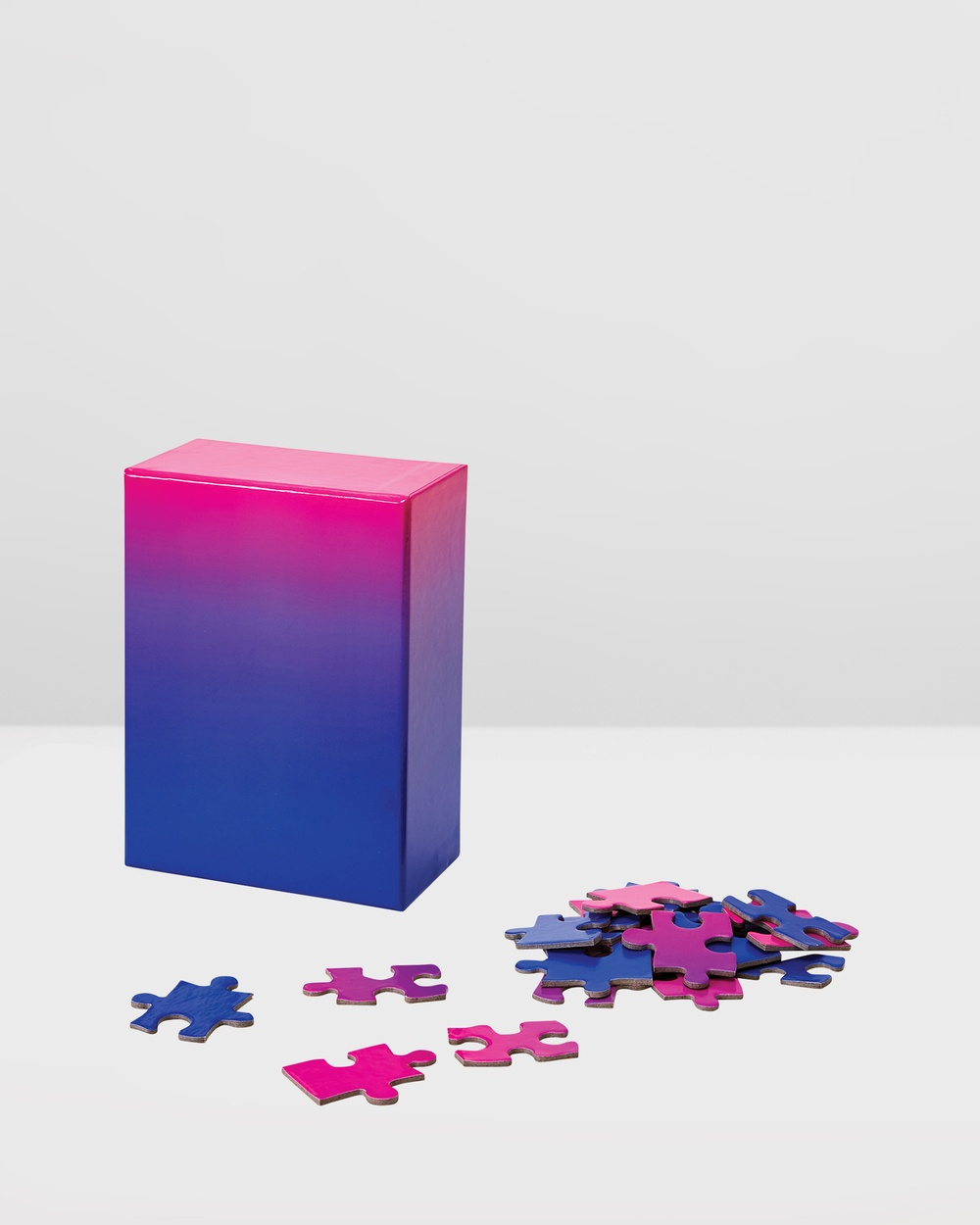Areaware Gradient Puzzle Small All toys Blue Pink