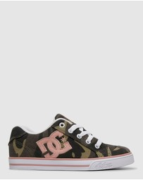 DC Shoes - Girls Chelsea TX Shoe