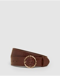 French Connection - Circle Croc Belt