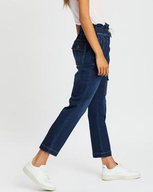 DRICOPER DENIM Utility Denim Jeans - High-Waisted (Vintage Indigo)