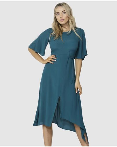 Fate + Becker In The Mood Dress Jade