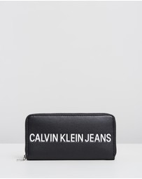 Calvin Klein Jeans - Sculptured Zip-Around Wallet