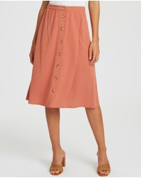 The Fated - Be Alright Midi Skirt