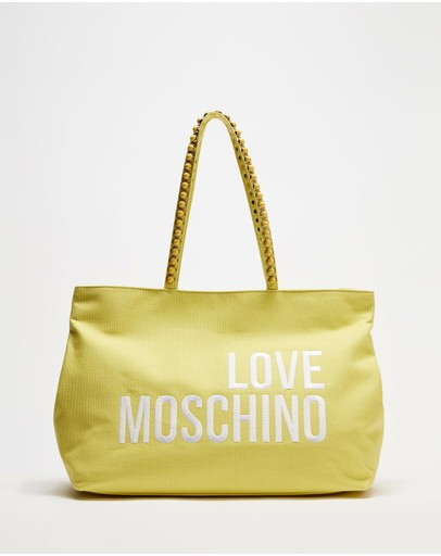 LOVE MOSCHINO - Canvas Tote Bag