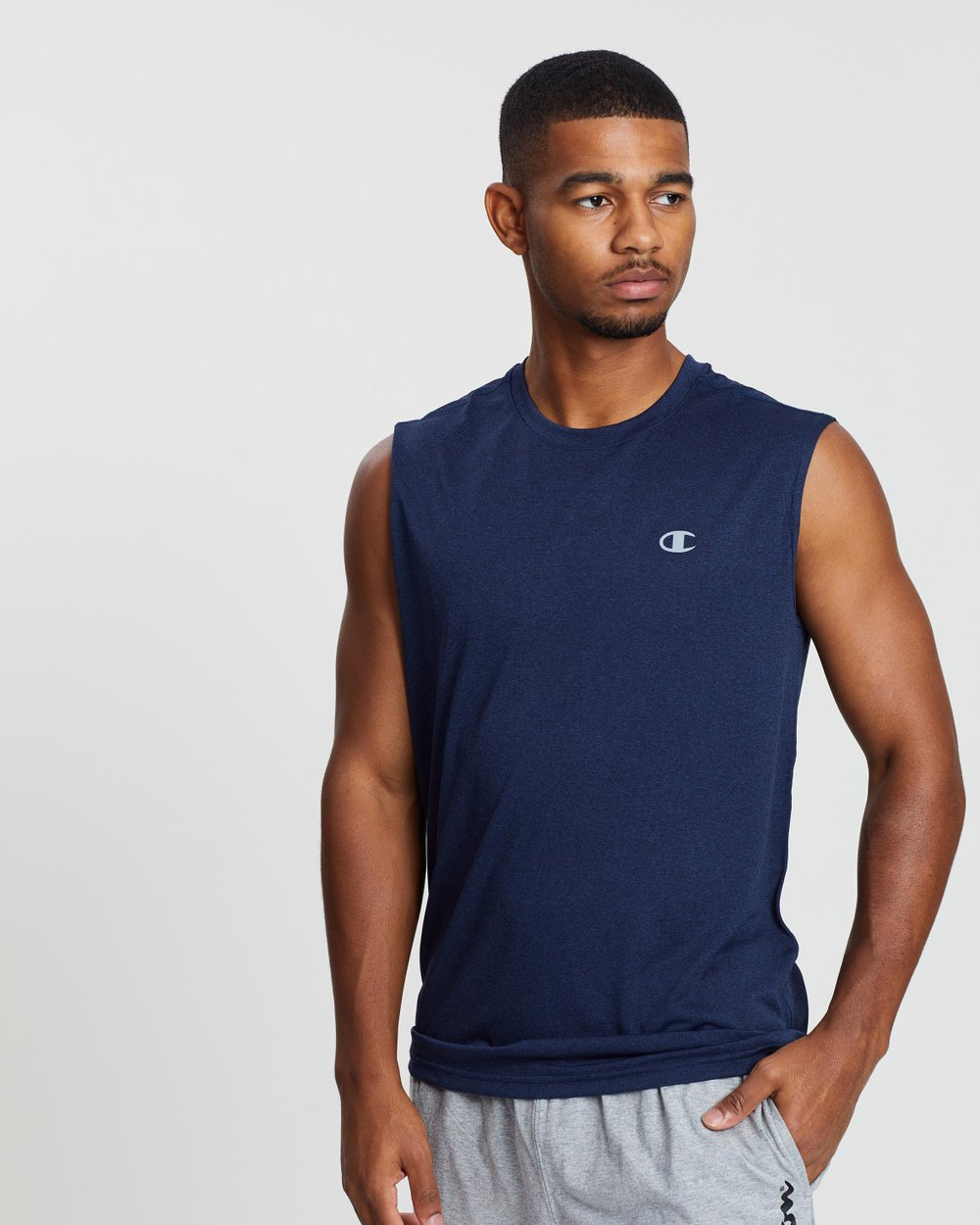 500c08b0a Double Dry Heather Muscle by Champion Online | THE ICONIC | Australia