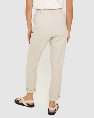 Jag Sasha Linen Pants - Pants (neutrals)