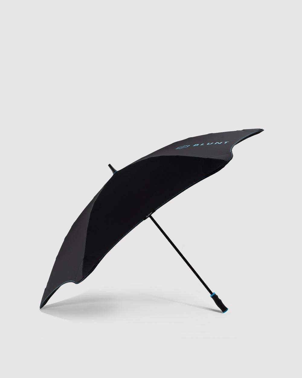 BLUNT Umbrellas Blunt Sport Umbrella Accessories Black Blue