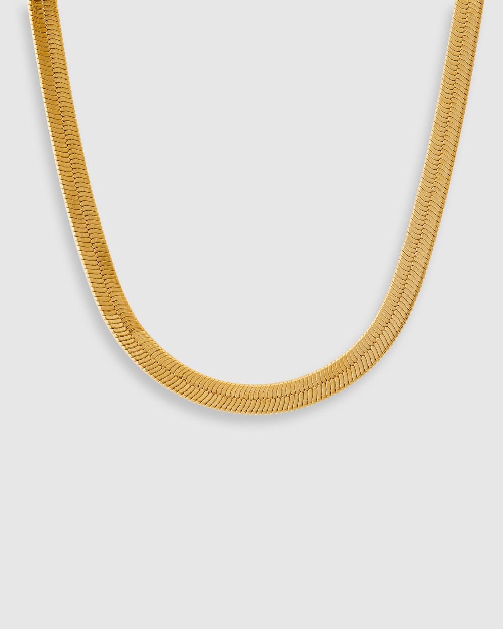 ALIX YANG Sienna Chain Jewellery Gold