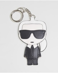 Karl Lagerfeld - Leather Karl Keychain