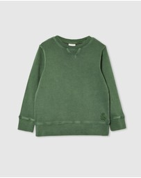 Milky - Garment Dyed Sweat - Kids