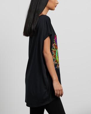 Camilla - Extended Sleeve Tee T-Shirts & Singlets (Acid Abbey)