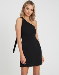 Calli - Monica Eyelet Mini Dress