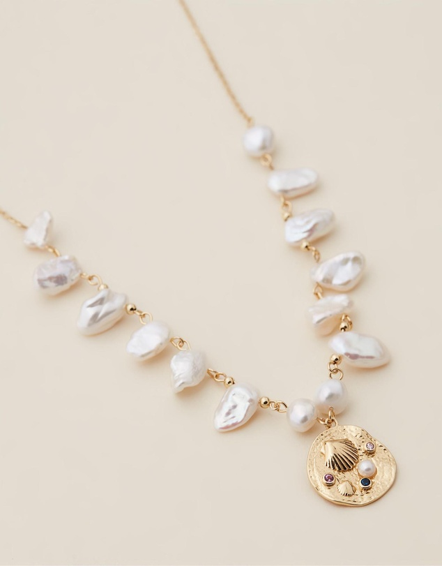 Women Coral Necklace