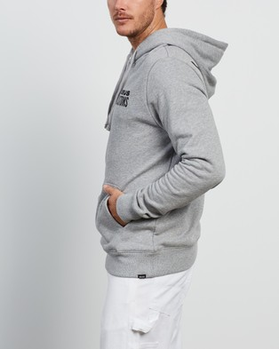 Deus Ex Machina Worldwide Hoodie Hoodies Grey Marle