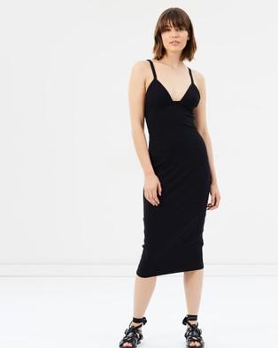 Third Form – Game On Tri Dress – Bodycon Dresses (Black)