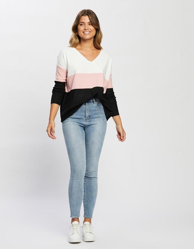 Women Kayla Stripe Knit