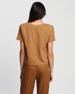 SOVERE - Asert Tee - T-Shirts & Singlets (Toffee) Asert Tee