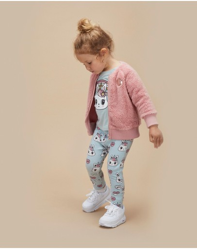 Huxbaby - Faux Fur Jacket - Babies-Kids
