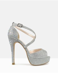 Betts - Razzle Embellished Platform Pumps