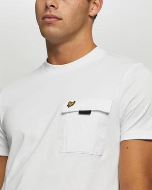 Lyle and Scott Chest Pocket T shirt - T-Shirts & Singlets (White)