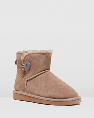 Hush Puppies Lounge - Slippers & Accessories (Taupe)