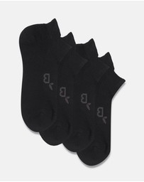 Boody Organic Bamboo Eco Wear - 4 Pack Mens Active Sports Socks
