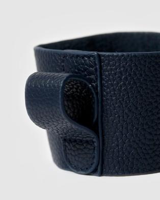 Fressko Camino Leather Sleeve - Home (Blue)