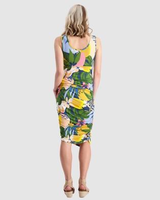 Maive & Bo Kasey x Maive Maternity Tank Dress - Bodycon Dresses (Multi)