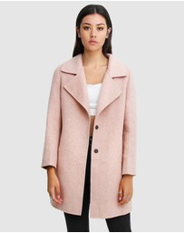 Belle & Bloom - Ex-Boyfriend Wool Blend Oversized Coat