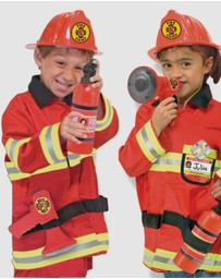 Melissa & Doug - Fire Chief Role Play Costume Set