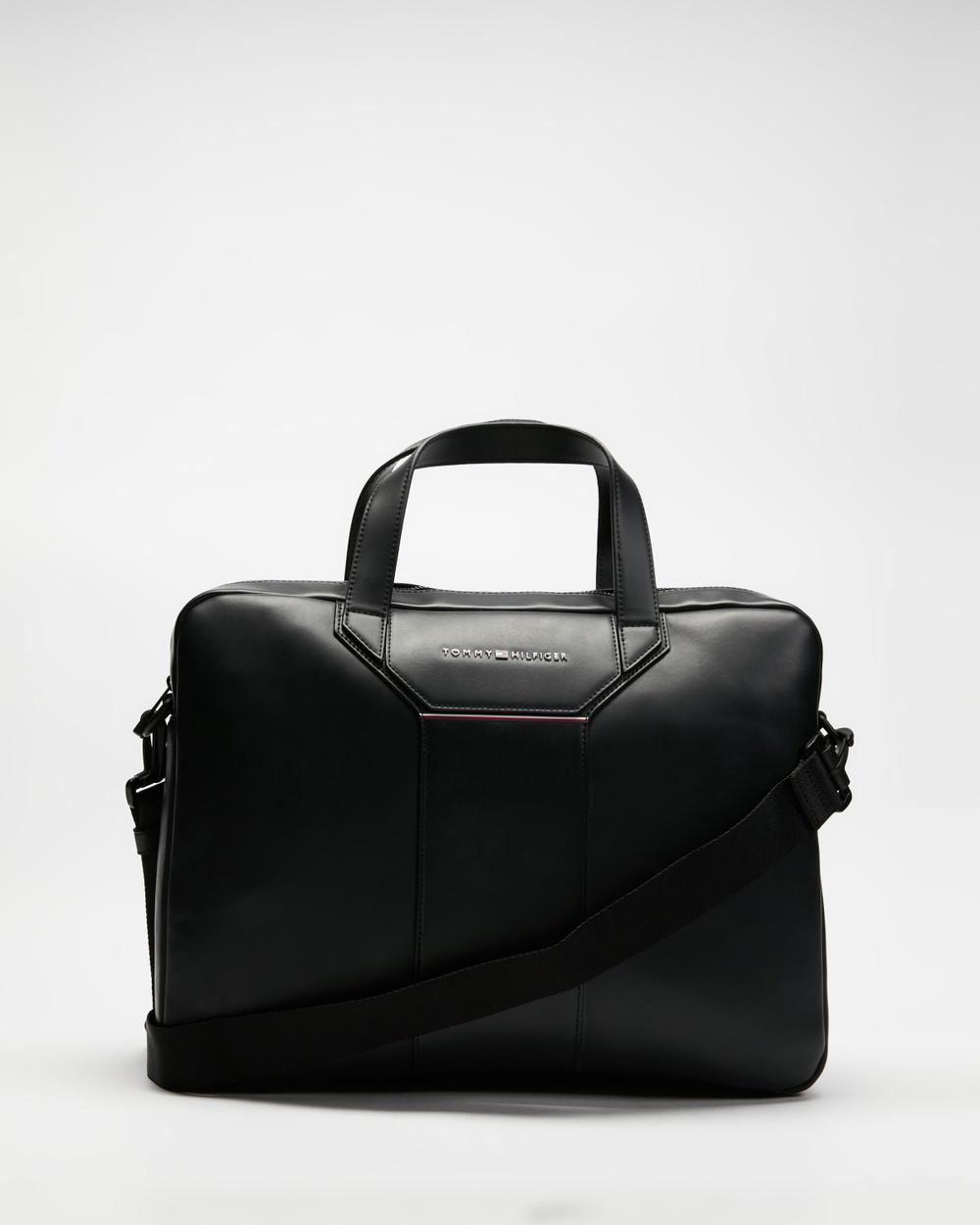 Tommy Hilfiger Commuter Computer Bag Bags Black