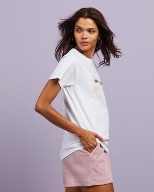 Cools Club Sunday Tee - T-Shirts & Singlets (White)