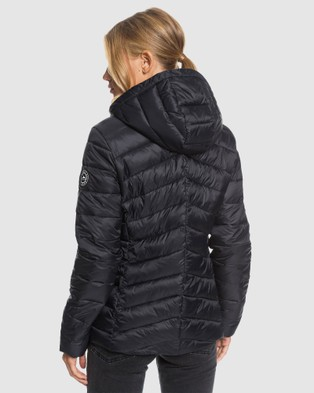 Roxy Womens Coast Road Water Resistant Packable Jacket - Coats & Jackets (Anthracite)