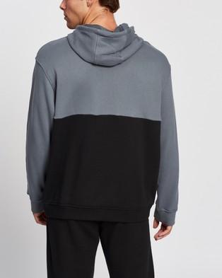adidas Originals Adicolor Sliced Trefoil Hoodie - Hoodies (Black & Blue Oxide)