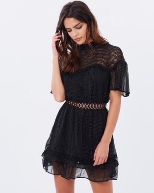 Talulah – Starry Night Mini – Dresses (Black)
