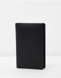 Herschel - Search Leather RFID Travel Wallet
