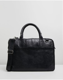 Double Oak Mills - Harry Leather Briefcase
