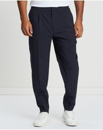 REISS - Prince of Wales Drawcord Pants